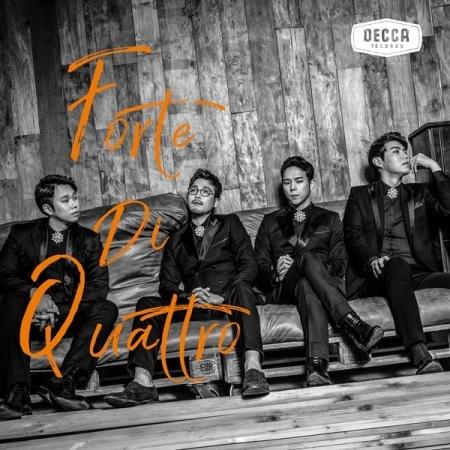 """[PRE-ORDER] FORTE DI QUATTRO - 1st Album """"FORTE DI QUATTRO"""""""