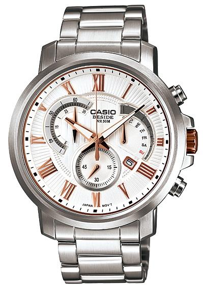 นาฬิกา คาสิโอ Casio BESIDE CHRONOGRAPH รุ่น BEM-506BD-7A