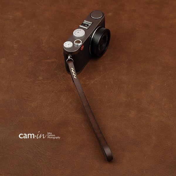 สายคล้องข้อมือกล้องหนังแท้ Cam-in Camera Wrist Strap