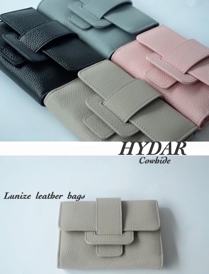 กระเป๋าสตางค์หนังวัว Hydar Collection