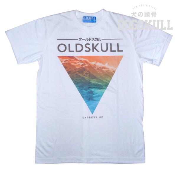 เสื้อยืด OLDSKULL : EXPRESS HD #36   ขาว