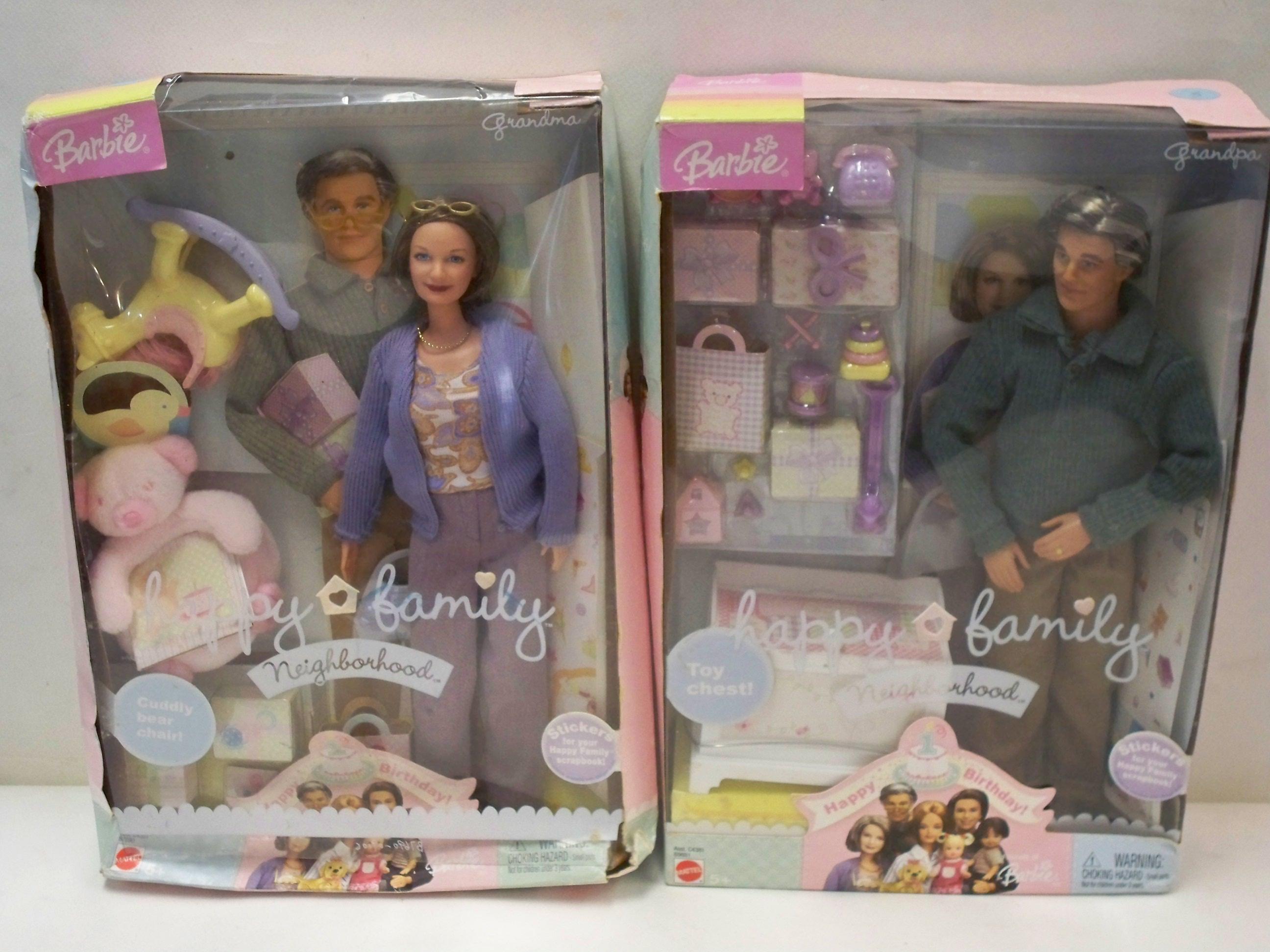 Grandpa Grandma Barbie