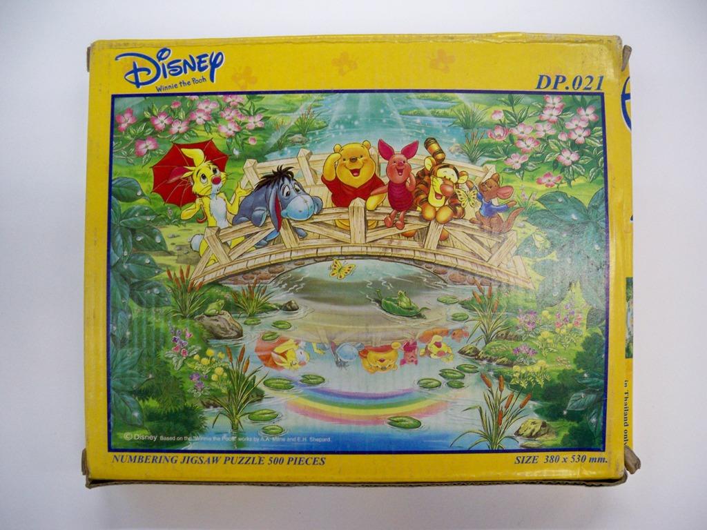 จิกซอหมีพูห์บนสะพาน 500ชิ้น