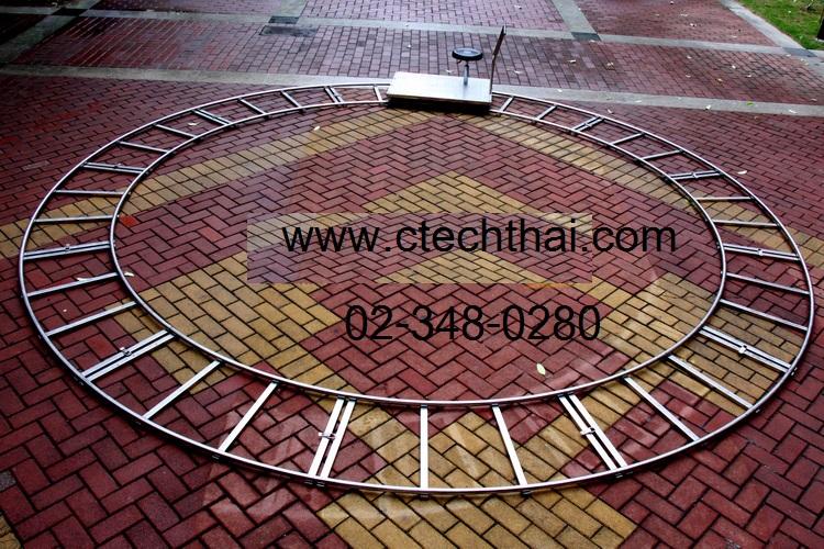 รางสแตนเลสแท้ 100% รางโค้ง ยาว 1.5 เมตร x 12 ท่อน ขนาดเส้นผ่าศูนย์กลาง 38 mm. ต่อยาวได้ 1 วงกลม รับน้ำหนัก 600 Kg