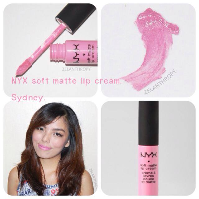 Nyx Soft Matte Lip Cream #SMLC13 Sydney