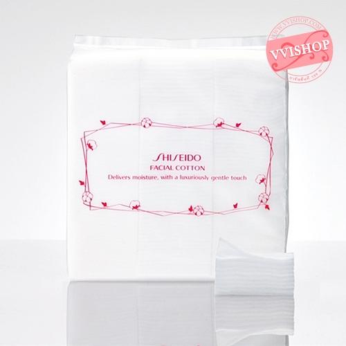 Shiseido Facial Cotton 80 g 165 แผ่น สำลีคุณภาพดี แผ่นใหญ่ นุ่ม ไม่เป็นขุย ไม่บาดหน้า *พร้อมส่ง*