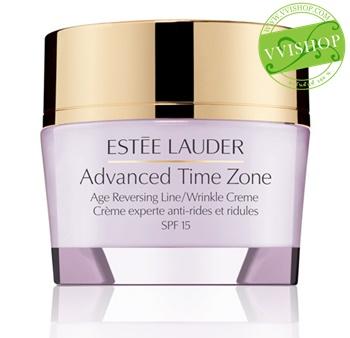Estee Lauder Time Zone Creme SPF 15 15 ml มอยเจอร์ไรเซอร์ที่ช่วยให้เส้นริ้ว และริ้วรอยลึก แลดูเลือนลง