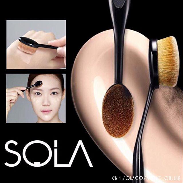 Sola Super Definition Face Brush แปรงลงรองพื้น