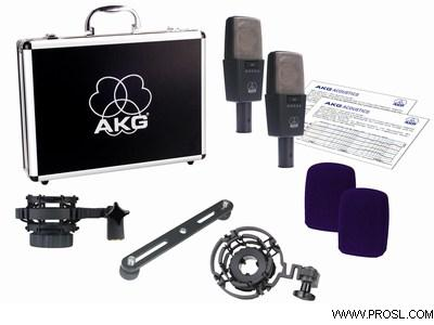 AKG C 414 B XLS/ST Matched Pair
