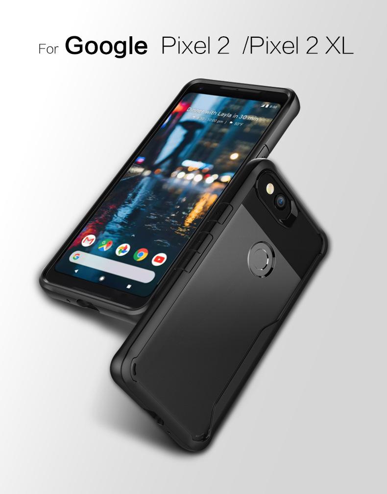 เคสกันกระแทก Silicone Frame Google Pixel 2 XL