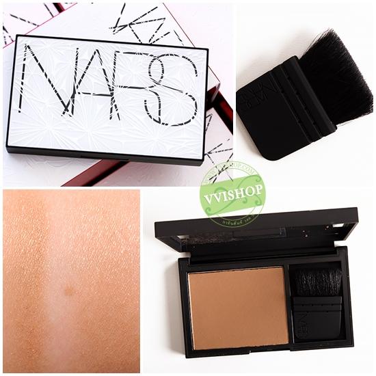 NARS Algorithm Laguna Bronzing Powder Palette 7g พร้อมแปรง Limited Edition (ขนาดปกติ มีกล่อง เคาน์เตอร์ไทย)