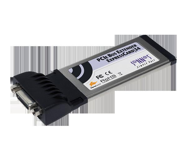 PCIe 2.0 Bus Extender ExpressCard/34