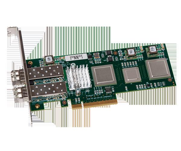Presto 10 Gigabit Ethernet Server 2-Port PCIe Card without SFPs [Thunderbolt compatible]