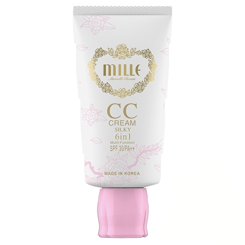 Mille CC Cream 6-in-1 Multifunction SPF30 PA++ # Silky