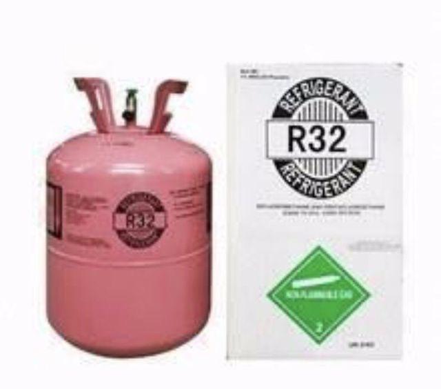 ถังพร้อม น้ำยาแอร์ R32