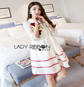 Lady Ribbon เชิ้ตเดรส