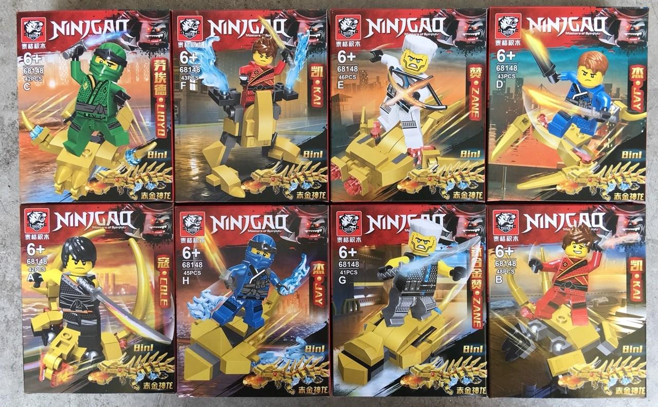 นินจาโก เลโก้นินจาโก TIGER 68148 ชุด NINJAGO 8 กล่อง