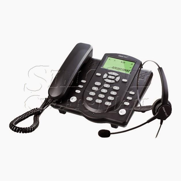 HION DT40 Headset + Handset Telephone w/ V202T Headset