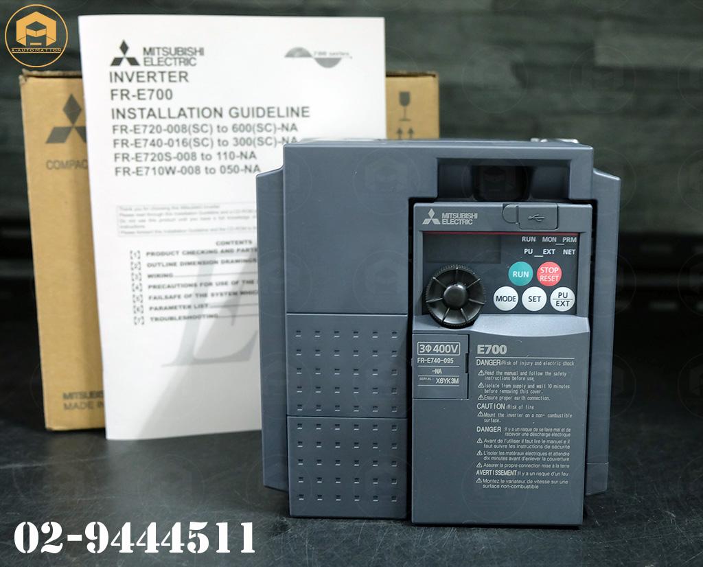 ขาย Inverter mitsubishi model:FR-E740-095-NA (สินค้าใหม่)