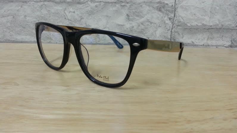 POLO club pc 5542 กรอบแว่นตาพร้อมเลนส์ มัลติโค๊ตHOYA ป้องกันรังสีคอม