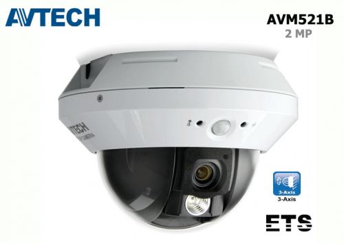 กล้อง IP 2.0MP Dome AVTECH รุ่น AVM521B