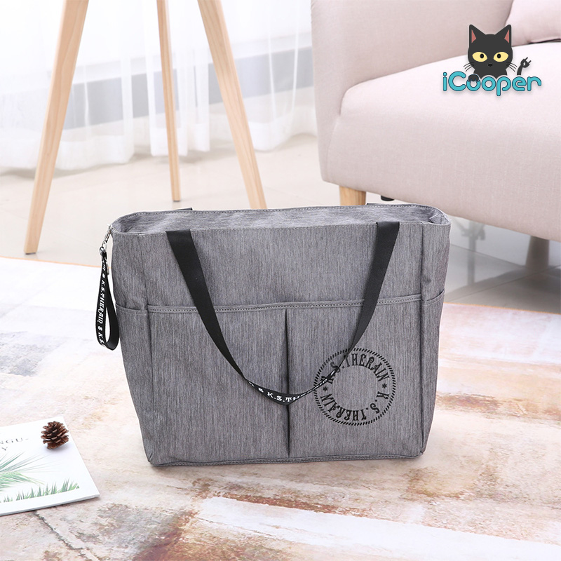 RONG.SHI.DAI Travel Bag (Gray)