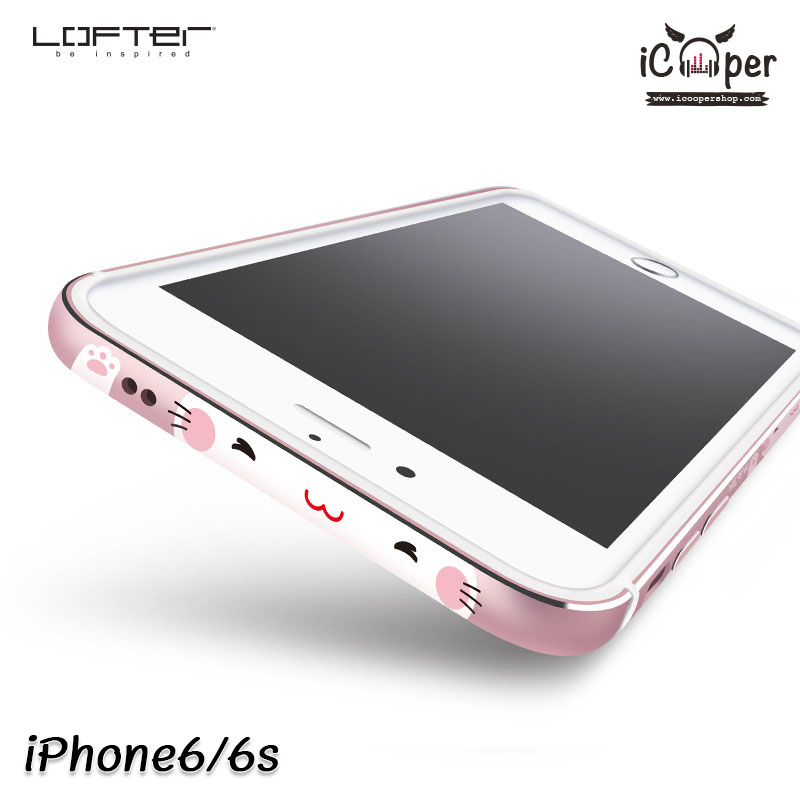 LOFTER Meow Bumper - Pink Gold (iPhone6/6s)