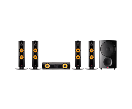 DVD HOME THEATER รุ่นDH6340H 1000W 5.1 CHANNEL