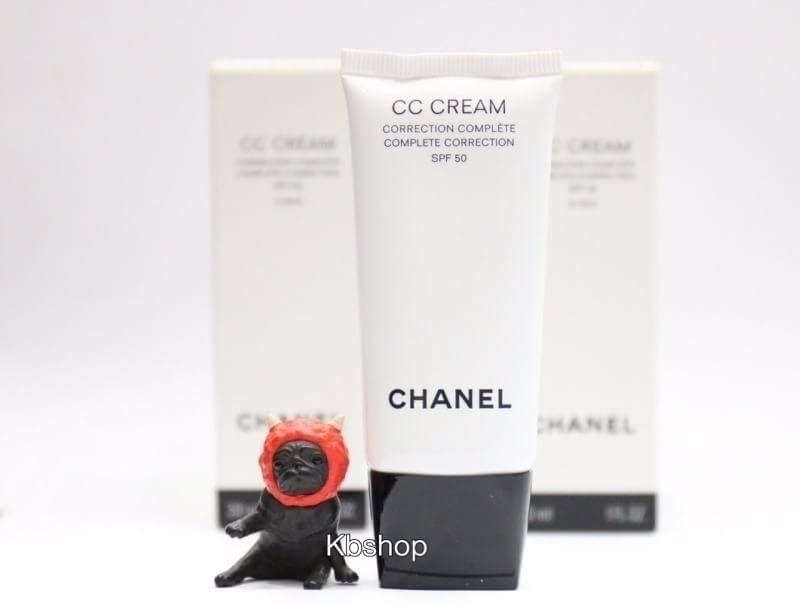 #CHANEL CC CREAM COMPLETE CORRECTION SPF 50
