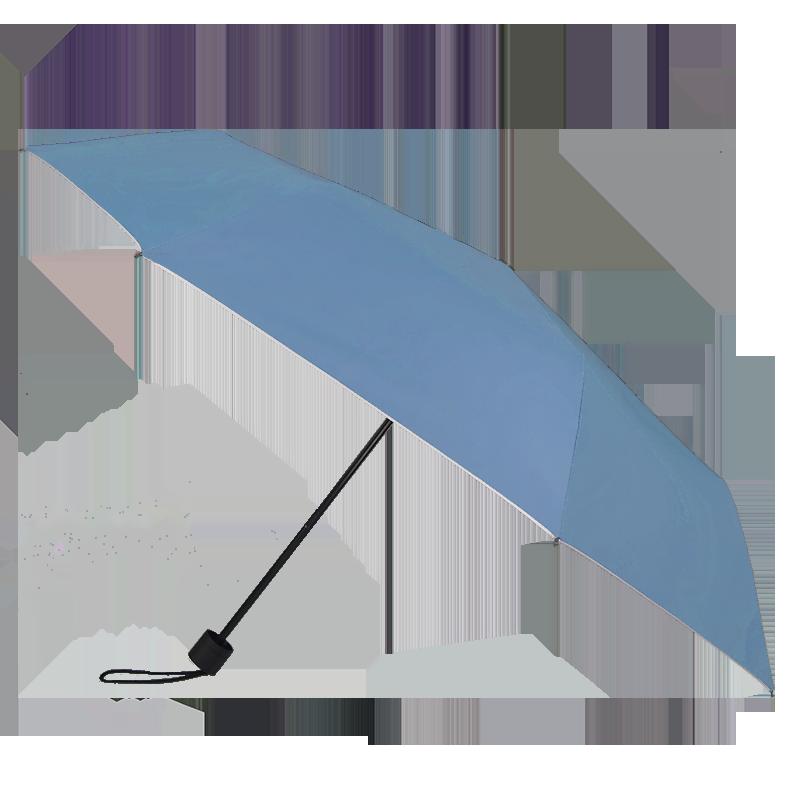 Silver Coating Folding ร่มพับ3ตอนเคลือบเงินป้องกันรังสียูวี-ฟ้า