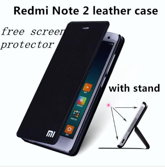เคส xiaomi redmi note2 เคสหนัง pu leather case