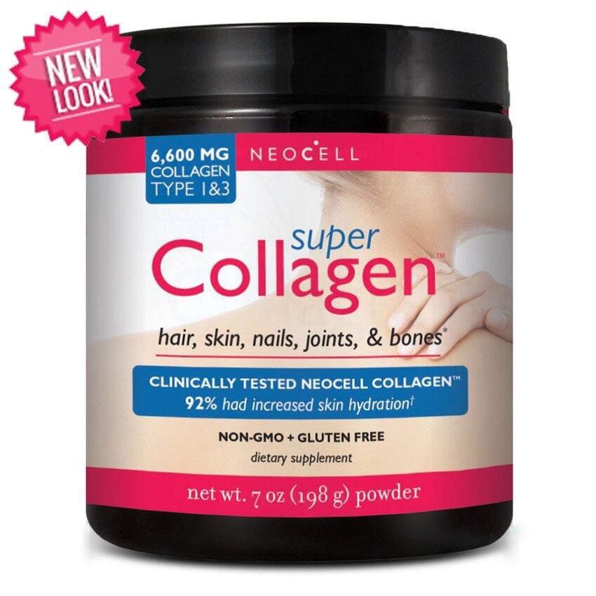 #Neocell Super Collagen Powder 6600 mg Type I & III ขนาด 7 oz. (198g.)