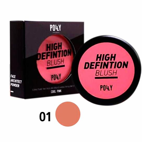 PollY Charming High Defintion Blush บลัชออนจาก SIVANNA No.01
