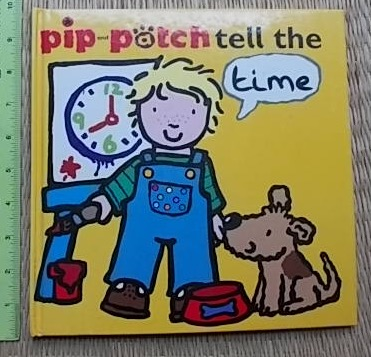 Pip and Potch Tell the Time (Flap Book) Hardback 16 Pages ราคา 170