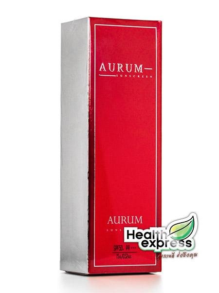Aurum Sunscreen Untimate Nano SPF 50+ PA+++ ปริมาณสุทธิ 15 g.