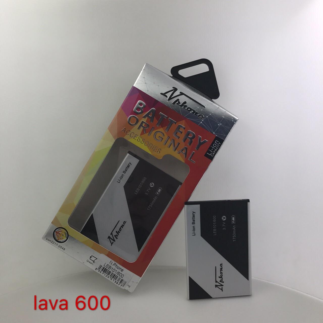 แบตเตอรี่ Lava 600 // BLB-101