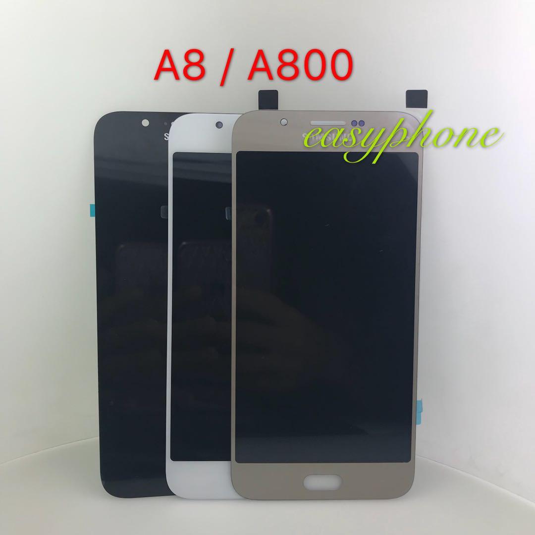 LCD Samsung A8 / A800 // มีสีขาว , สีดำ ,สีทอง ( แท้ )