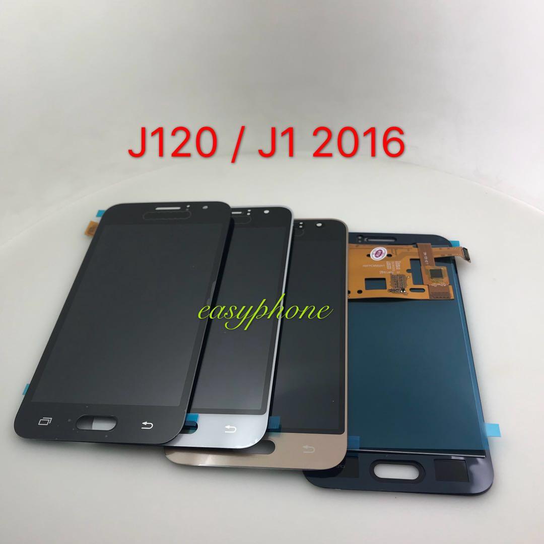 LCD Samsung J120 / J1 (2016) // (งานAปรับแสงไม่ได้) มีสี ดำ,ขาว,ทอง