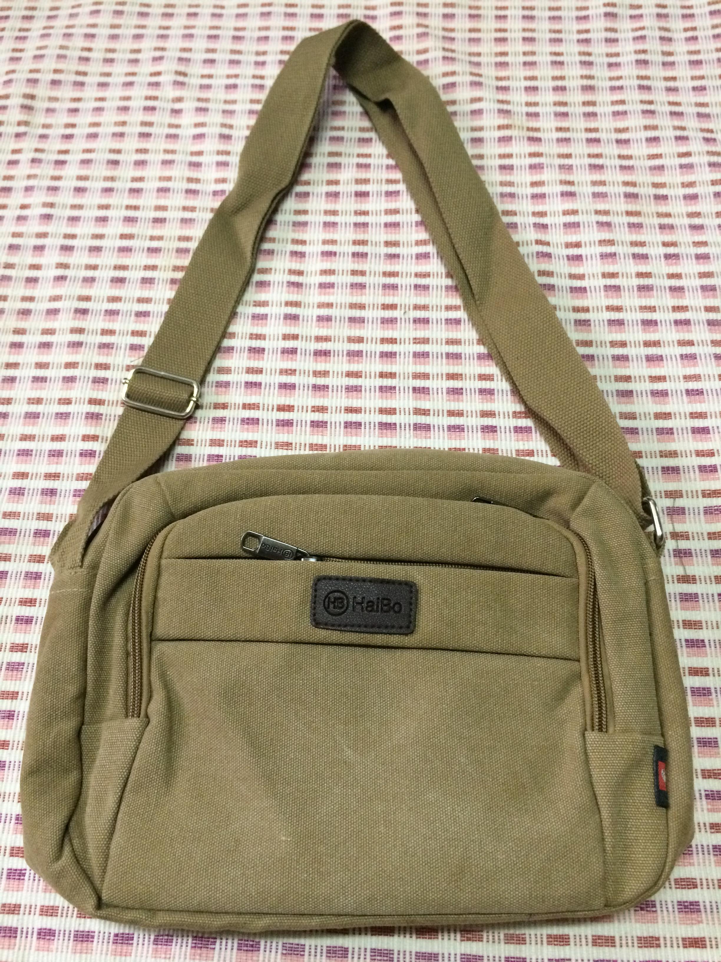 กระเป๋าสะพายข้าง(สีน้ำตาล)