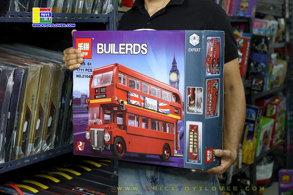 ตัวต่อ London Bus รถบัสประจำทางรับส่งผู้โดยสารในกรุงลอนดอน