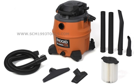 RIDGID ริดจิด เครื่องดูดฝุ่น-ดูดน้ำ 16 แกลลอน รุ่น WD1680EX Commercial Series Wet/Dry Vacuum