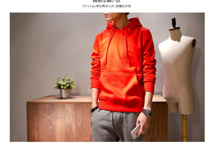 เสื้อกันหนาว Style ญี่ปุ่น มีหมวก Hood กระเป๋าจิงโจ้ หลายสีแสบทรวง
