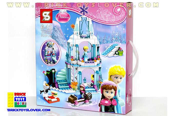 SY373 Frozen Castle ปราสาทเจ้าหญิงบนภูเขาหิมะ