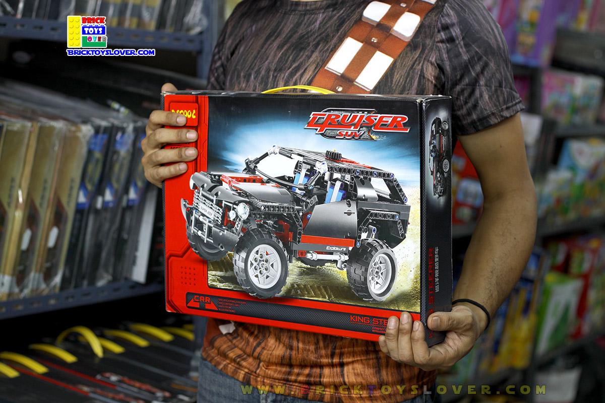 3341 ตัวต่อ King Steerer รถ Super Jeep ภาคสนาม Cruiser SUV Exploiture