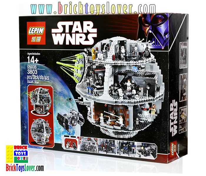 05035 สถานีอวกาศ Death Star ของกองทัพอิมพีเรียลแห่งจักรวรรดิกาแล็คติก
