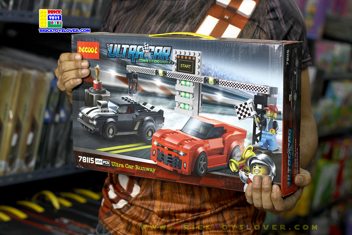 78115 ตัวต่อ UltraCar Compettition รถแข่ง Chevrolet Camaro Drag Race