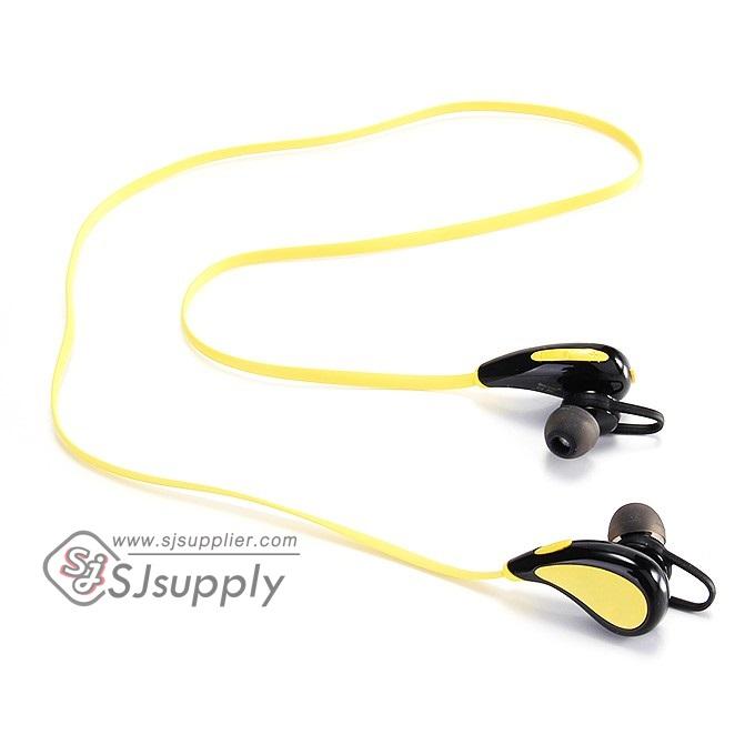 หูฟัง บลูทูธ Roman S330 สีเหลือง