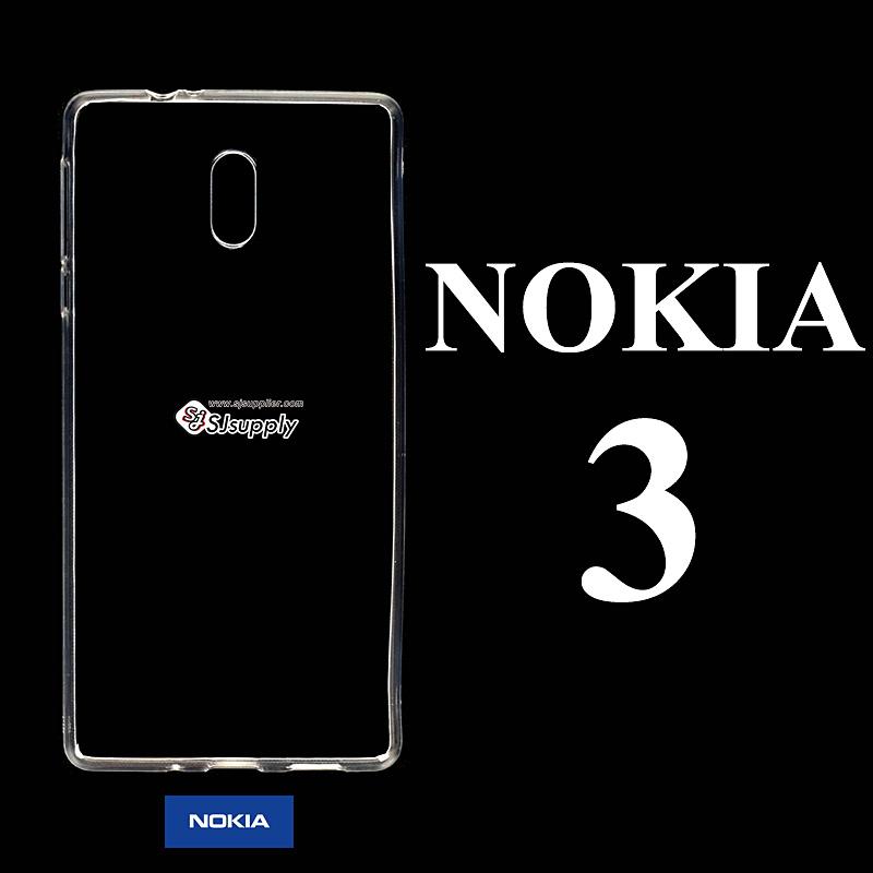 เคส NoKia 3 ซิลิโคน สีใส