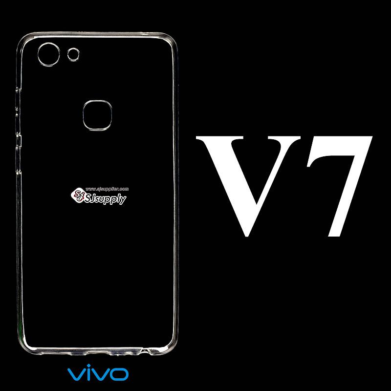 เคส Vivo V7 ซิลิโคน สีใส
