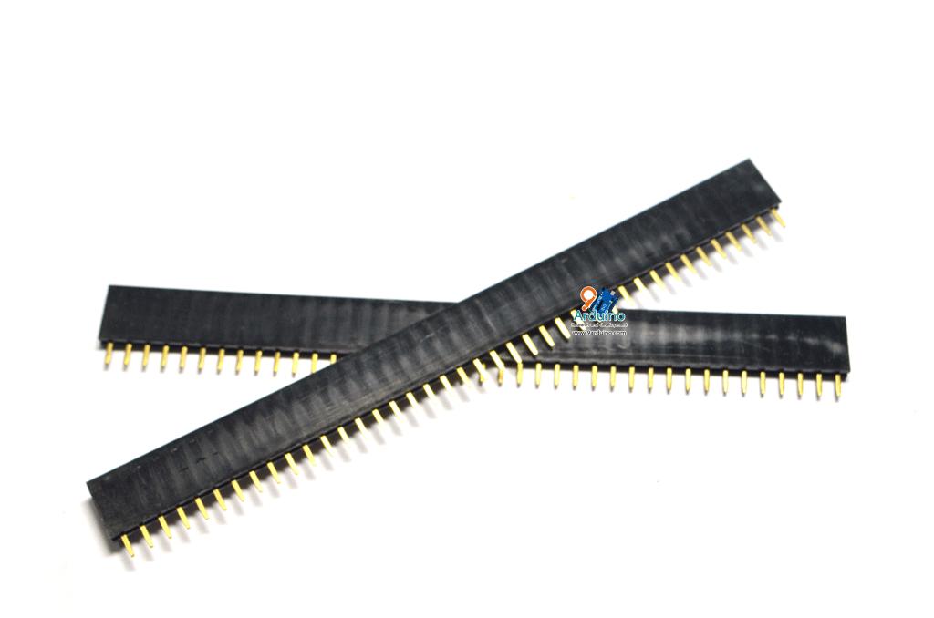 1x40 Pin Female Pin Header Connector